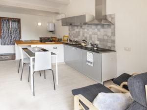 cucina appartamento manarola
