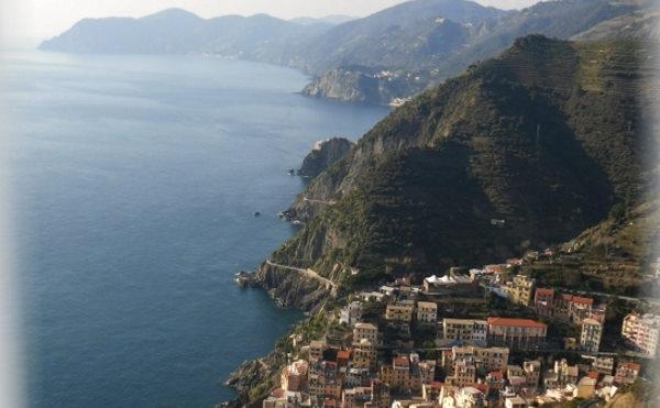 coast of the cinque terre five lands