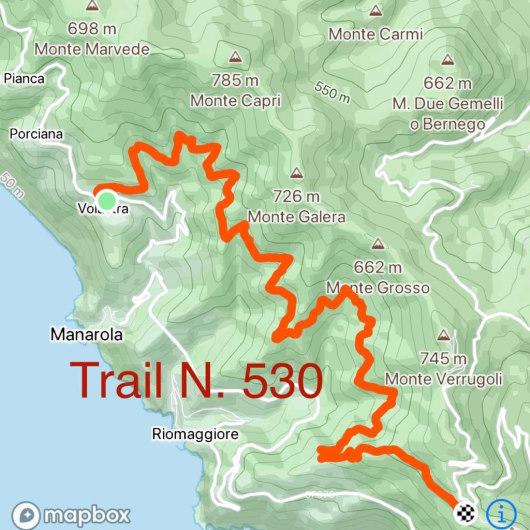 tracciao strada dei santuri rel 530